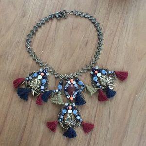 Beautiful embellished J Crew necklace